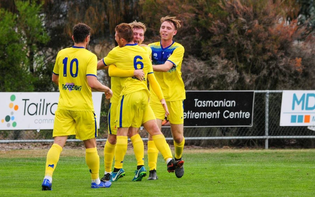 Devonport Strikers fire to keep unbeaten streak alive with win over Riverside Olympic