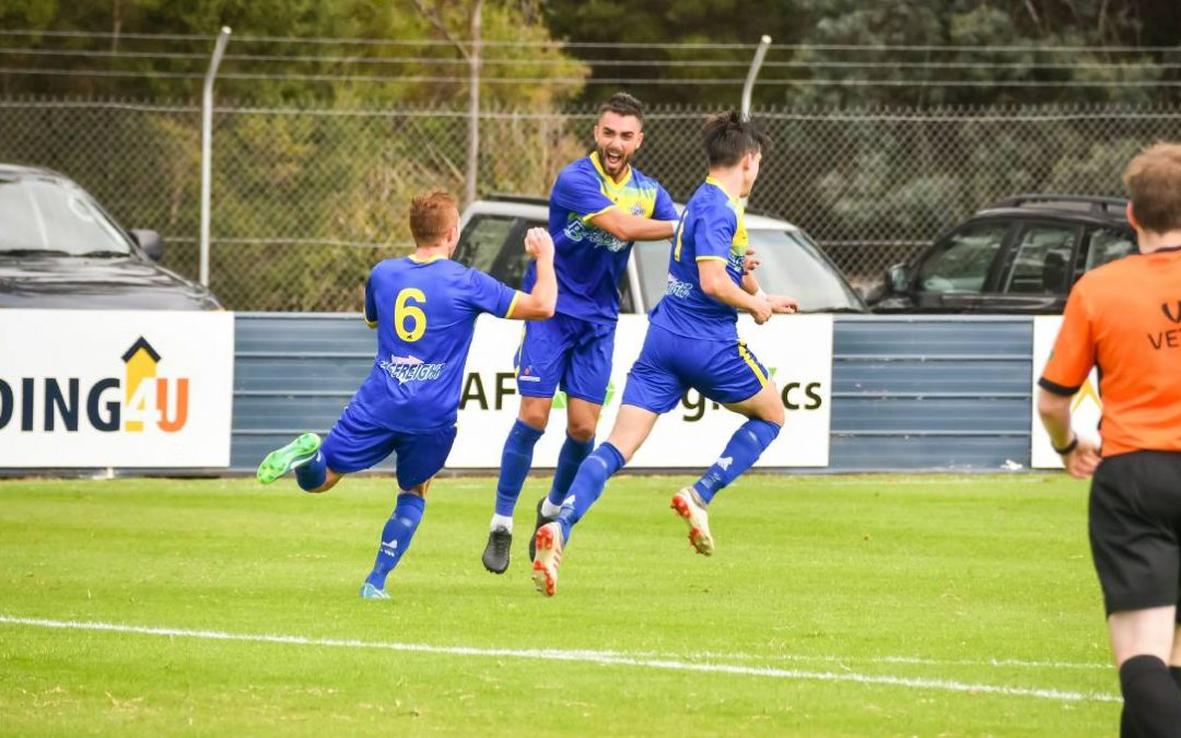 Devonport Strikers opened their NPL Tasmania title defence with a 1-0 victory over Olympia