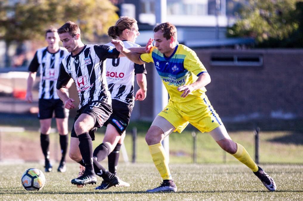 Devonport Strikers lose 2-1 to Hobart Zebras on Monday