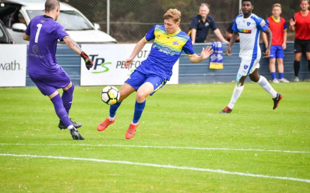 Max Fitzgerald continues to show improvement for the Devonport Strikers