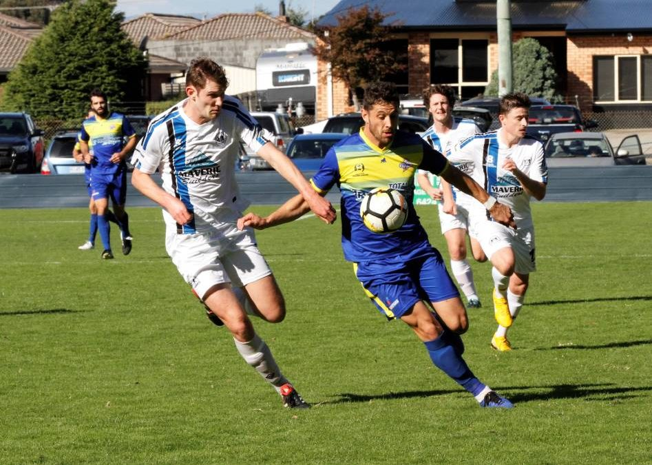 Devonport defeat Kingborough 6-0 in its NPL Tasmania match at Valley Road