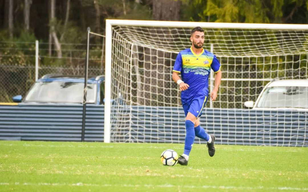 Devonport Strikers to go forward without star Guillermo Lazcano