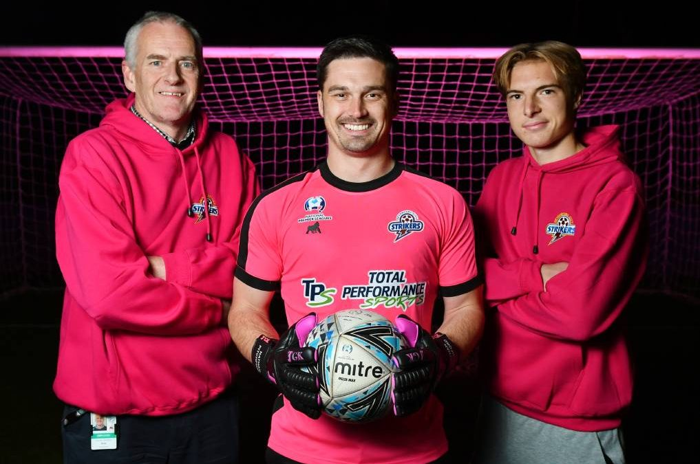 Strikers going pink after Pitchford's push