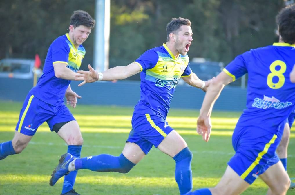 Devonport defeat Kingborough 2-1 in Saturday's NPL Tasmania clash at Valley Road.