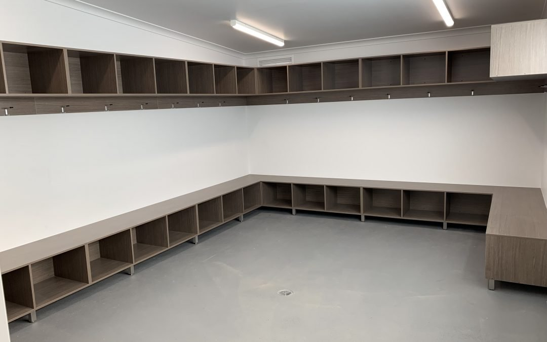 Devonport Strikers announce completion of new change rooms